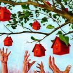 Кризис грозит обвалом рынка недвижимости в Украине